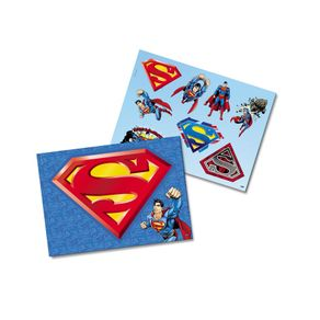Kit Decorativo Cartonado Superman Geek Festcolor