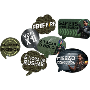 Kit-Plaquinhas-Decorativas-Free-Fire-09-unidades-Festcolor